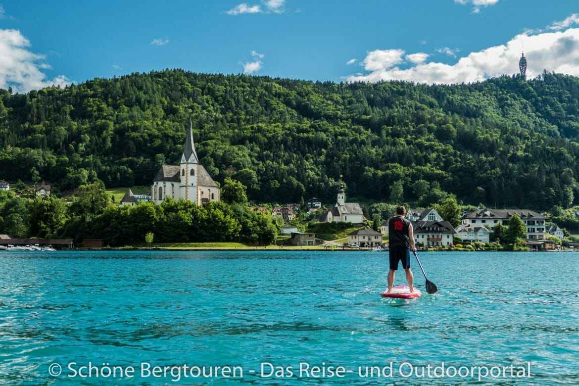 Wörthersee - Stand Up Paddling