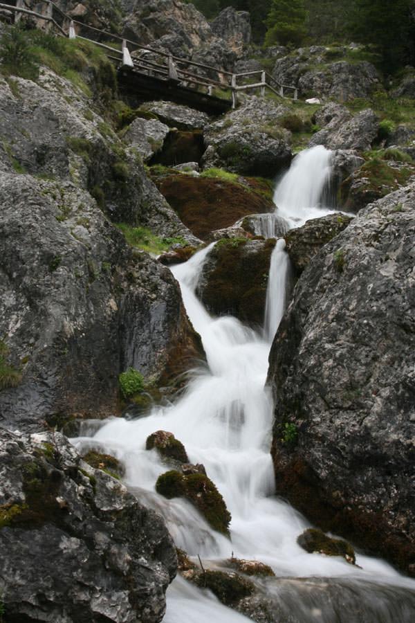 Kronplatz Tourismus - Ciastlins Wasserfaelle
