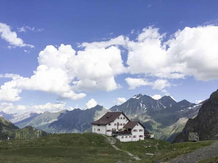 BergaufBergab - Neue Regensburger Huette