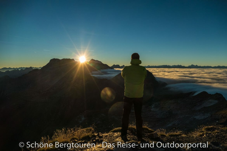 Fürstentum Liechtenstein - Sonnenaufgang geniessen