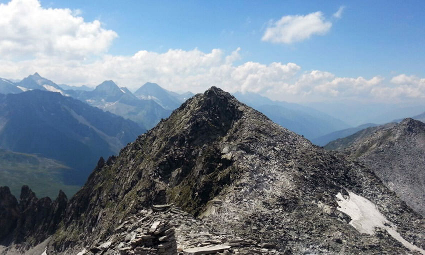 Kronplatz Tourismus - Klockerkarkopf Gipfel