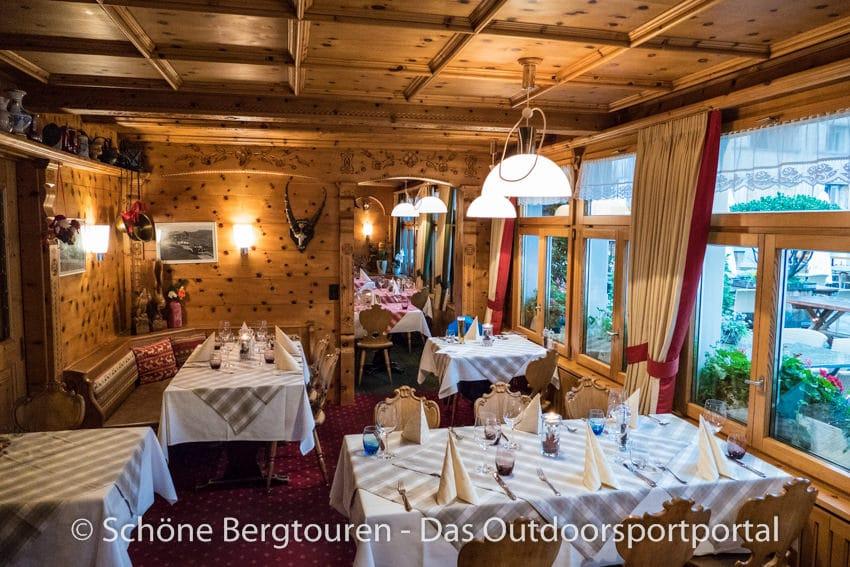Alpenhotel Malbun - Gaststube