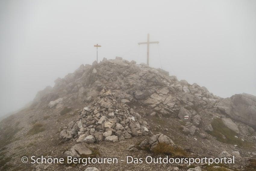 Fuerstentum Liechtenstein - Augstenberg Gipfelkreuz