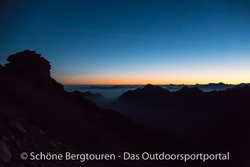 Fuerstentum Liechtenstein - Morgendaemmerung