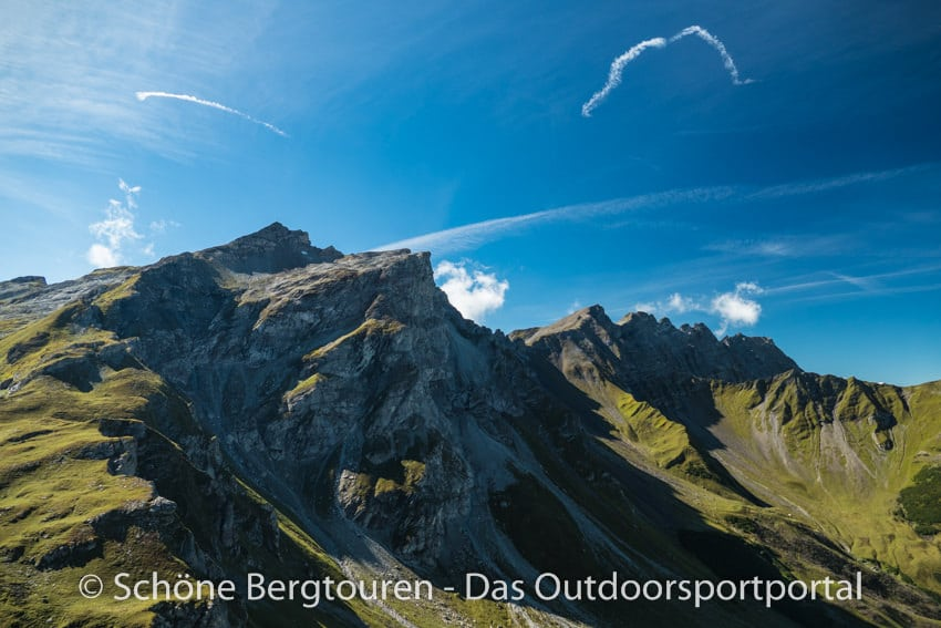 Fuerstentum Liechtenstein - Rueckblick zum Naafkopf