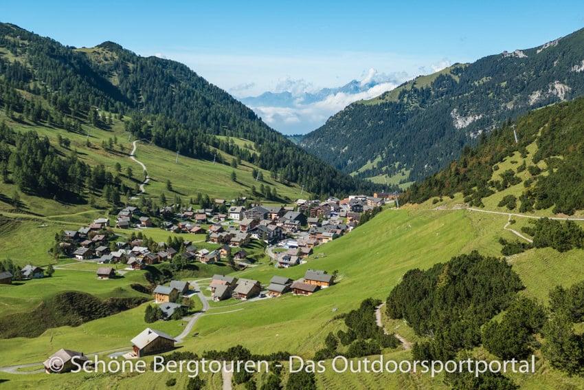 Fuerstentum Liechtenstein - Blick auf Malbun