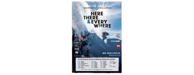 """Warren Miller 2016 """"Here, There And Everywhere"""" – Trailer, Termine, Programm, Infos… Warren Miller´s neue Skifilm """"Here, There And Everywhere"""" begleitet die weltbesten Rider an atemberaubende Freeski-Spots auf der ganzen […]"""