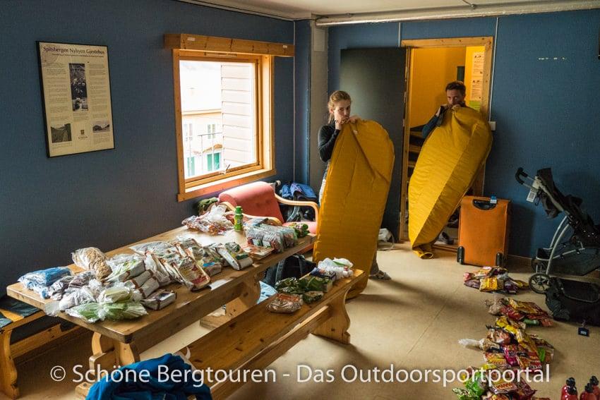 Spitzbergen - Ausruestungscheck