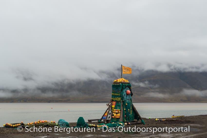 Spitzbergen - Umweltobjekt in Longyearbyen