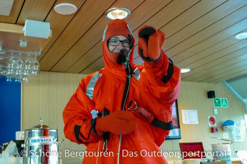 Spitzbergen Expeditionskreuzfahrt - Sicherheitsbriefing