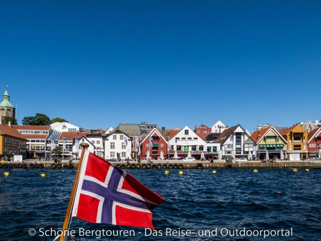 Stavanger - Hafen der Innenstadt