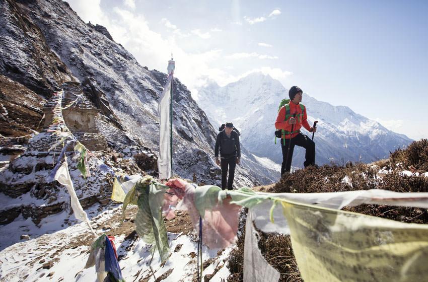 Bergwelten - David Lama and Conrad Anker