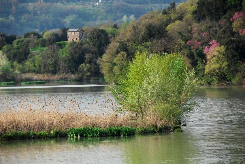 Charminly - Naturschutzgebiet des Tibers Nazzano
