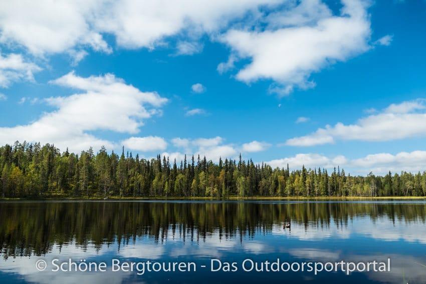 Finnland - See im Oulanka National Park