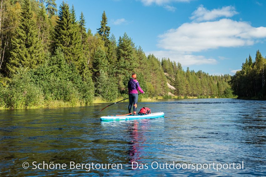 Finnland - Stand Up Paddling