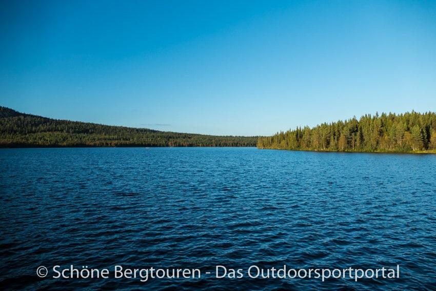 Finnland - Pyhaejaervi See