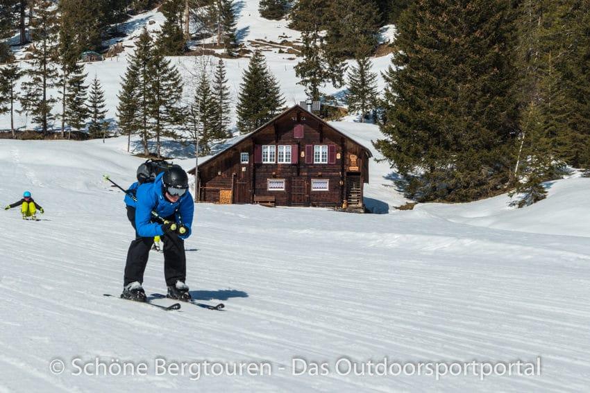 Skifahren - Endspurt