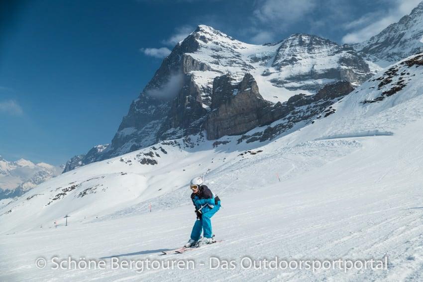 Skifahren - Eiger-Nordwand
