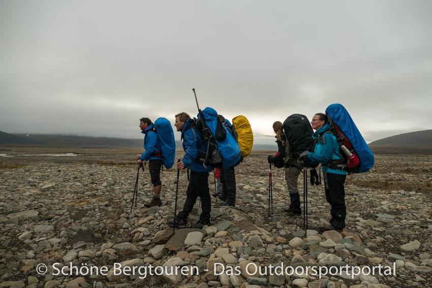 Spitzbergen Trekking - Blick in die Ferne