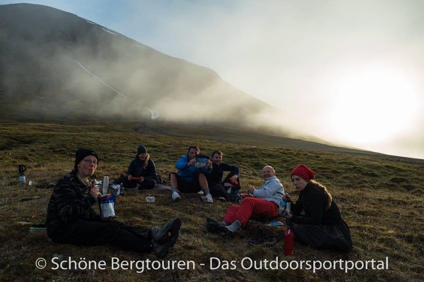 Spitzbergen Trekking - Abendessen