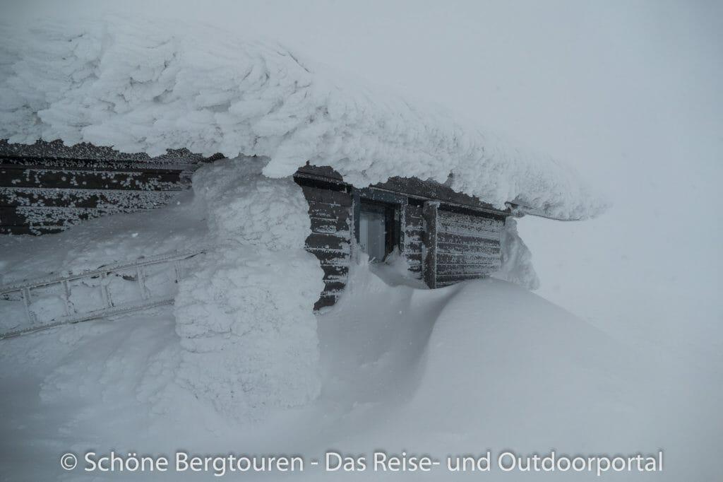 Skigebiet Ylläs - Bizarre Eisformen
