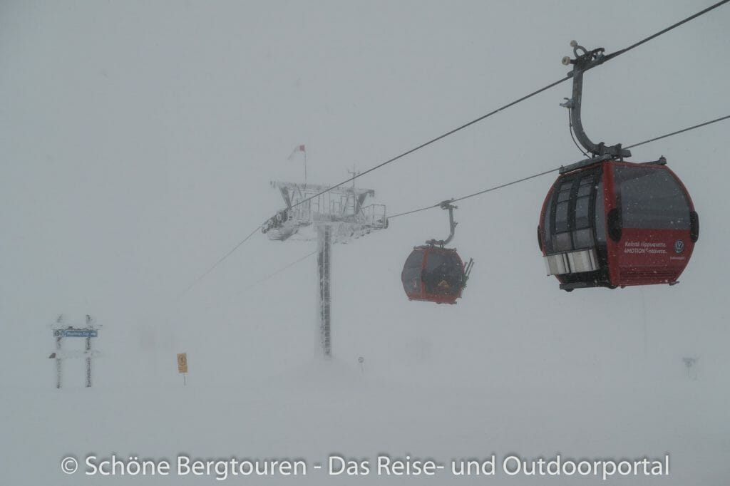 Skigebiet Ylläs - Gondelbahn