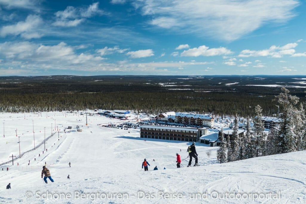 Skigebiet Ylläs - Lapland Hotel Saaga