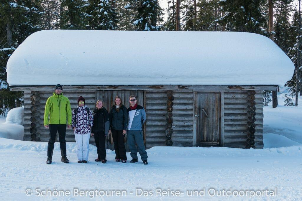 Skigebiet Ylläs - Latvamaja Laavu