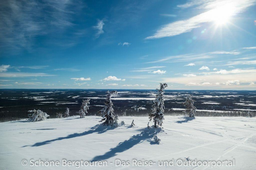 Skigebiet Ylläs - Panoramablick