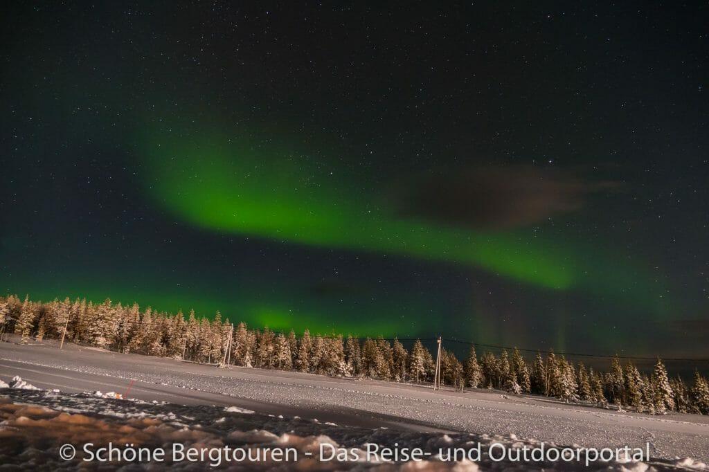 Skigebiet Ylläs - Polarlichter