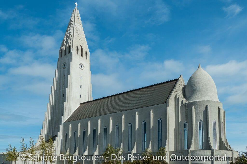 Island - Halgrims-Kirche in Reykjavik