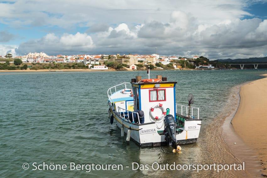 Rota Vicentina - Faehrboot