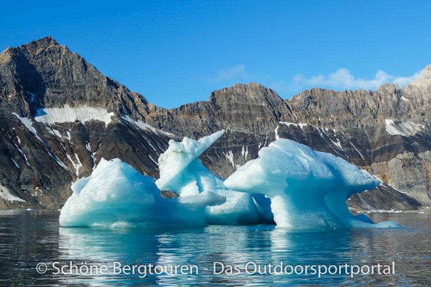 Spitzbergen - Eisberge im Hornsund