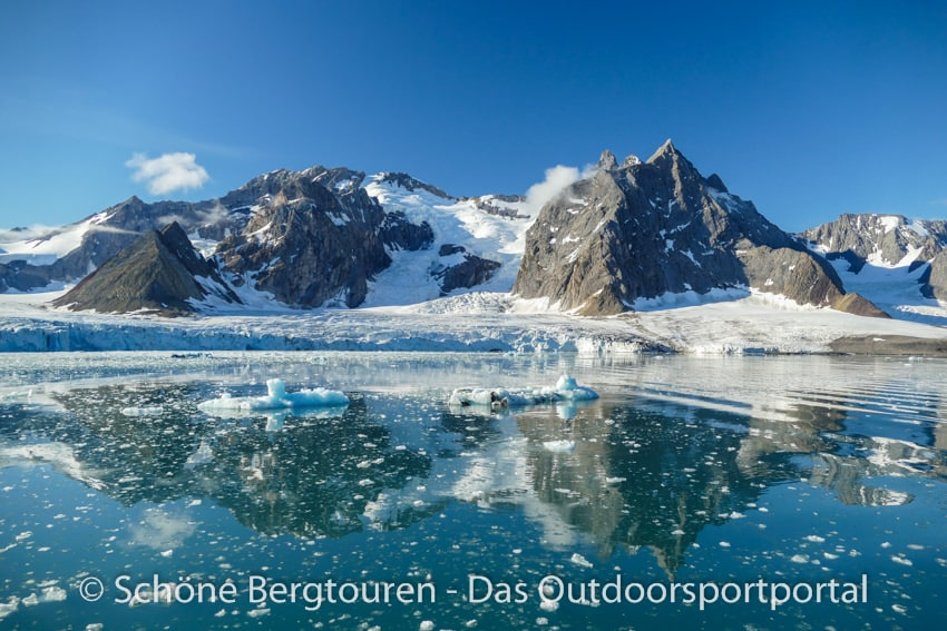 Spitzbergen - Samarinbreen