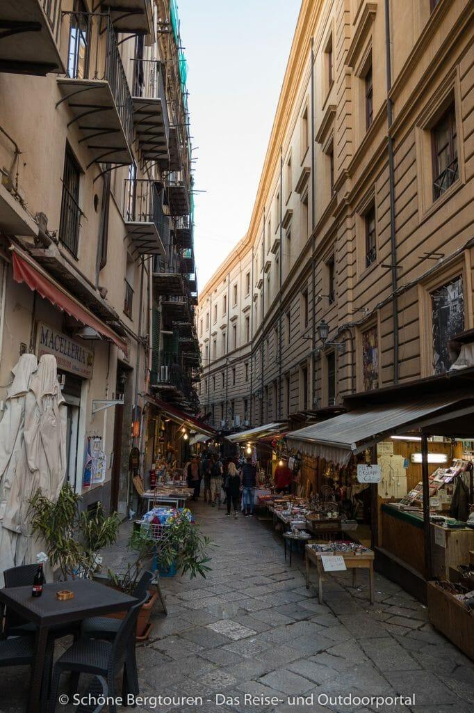 Palermo - Einkaufsgassen