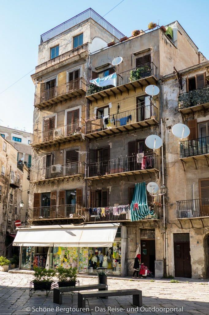 Palermo - Wohnhaus