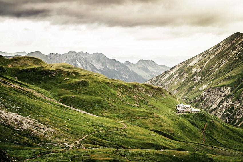ASI Reisen - Alpenueberquerung - Kemptner Huette