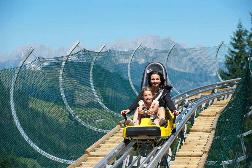 Kitzbueheler Alpen - Coster auf Timoks Alm in Fieberbrunn