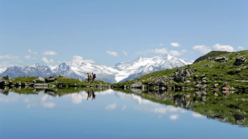Kitzbueheler Alpen - Oberer Wildalmsee auf dem Weg zum Schafsiedel