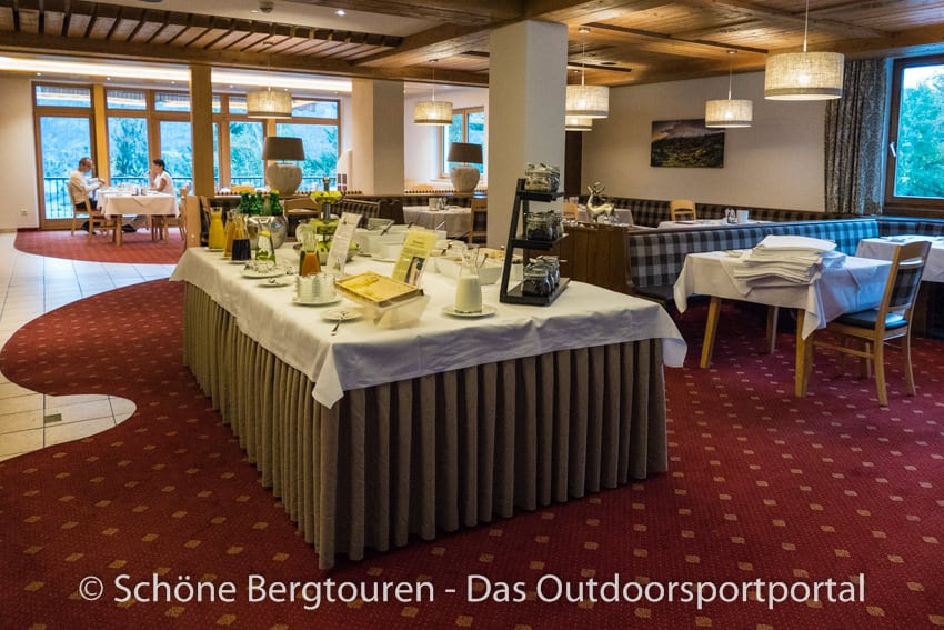 L Hotel 360 Tirol - Fruehstueckssaal