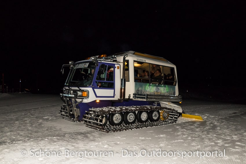 Levi in Lappland - Lapland Express