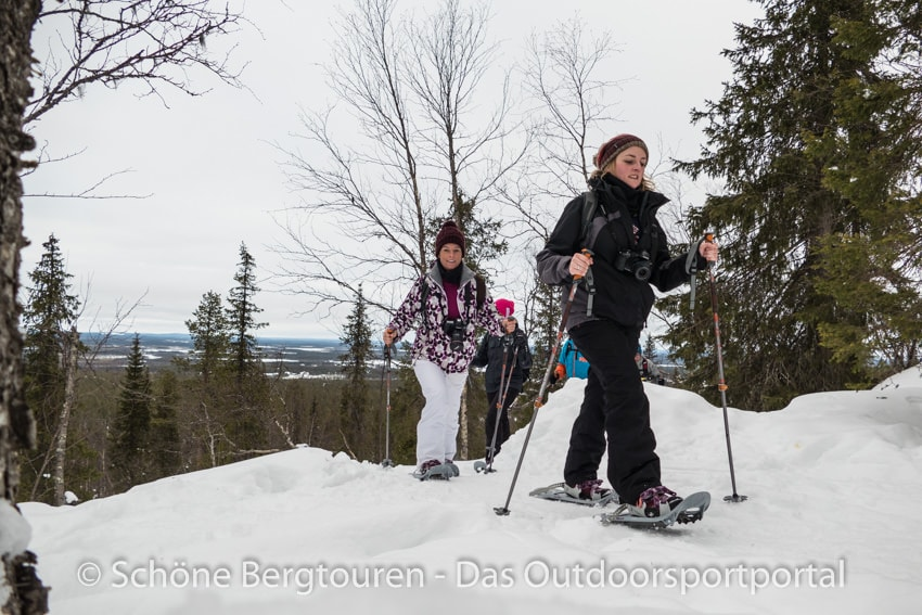Levi in Lappland - Schneeschuhwanderung