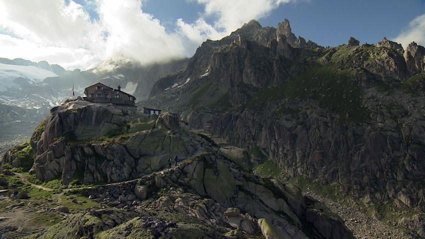 BergaufBergab - Albert-Heim Huette