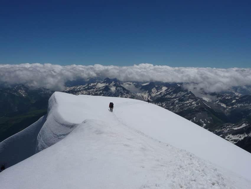 BergaufBergab - Am Gipfeldach auf 3580 Metern