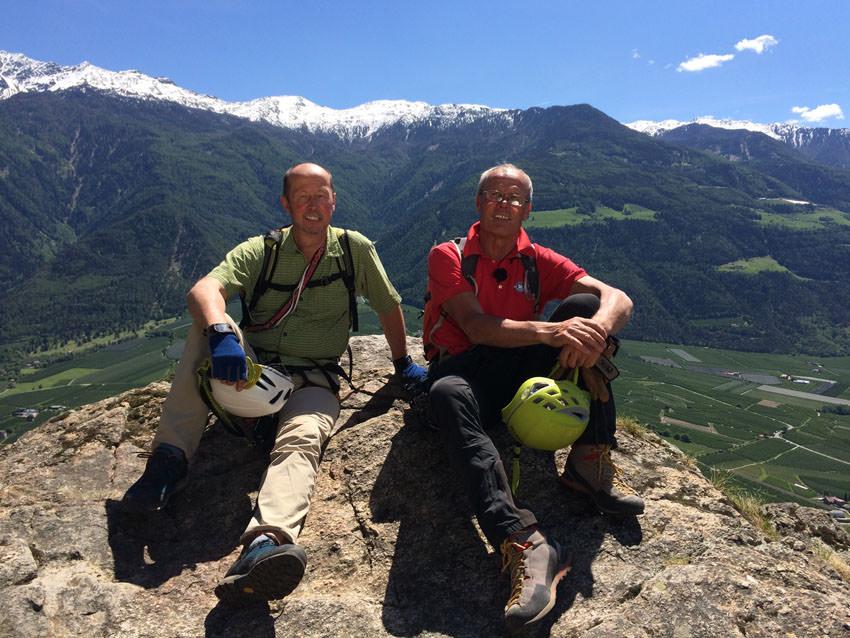 Klettersteig Nähe Zürich : Bergauf bergab u klettersteig und mountainbike im vinschgau