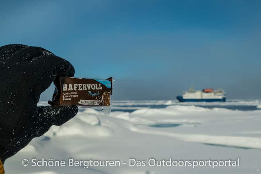 Hafervoll - Flapjacks im arktischen Treibeis