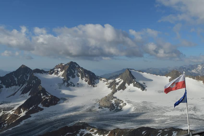BergaufBergab - Aussicht vom Becherhaus