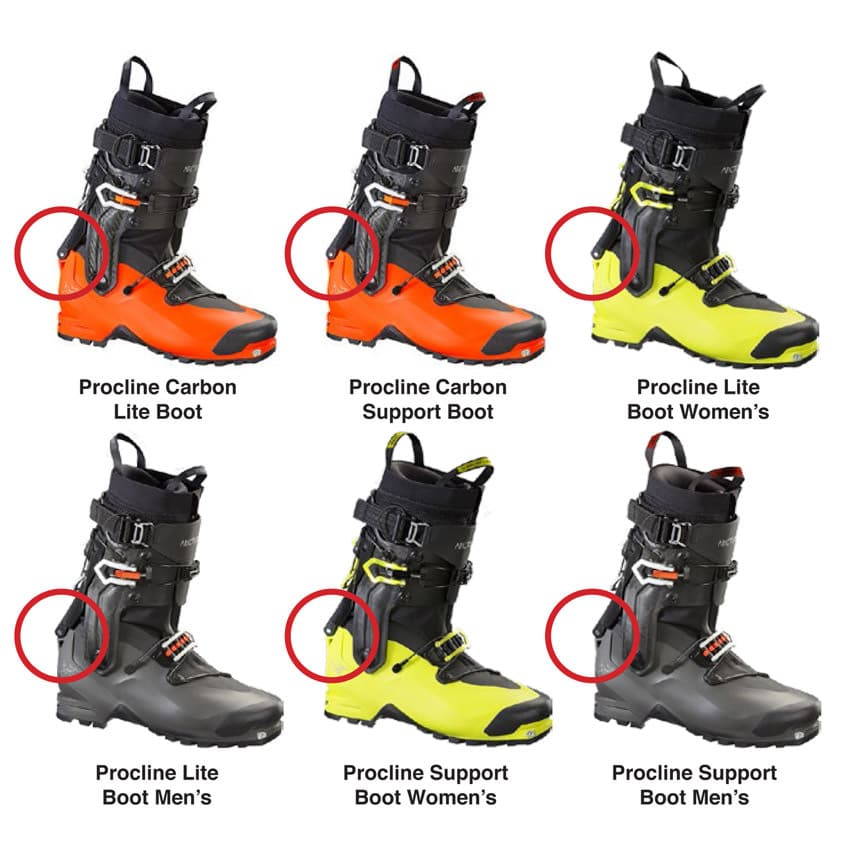 Arcteryx - Procline Boots Rueckruf