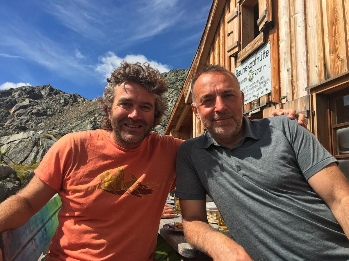 BergaufBergab - Huettenwirte Christian Faul und Georg Bayerle