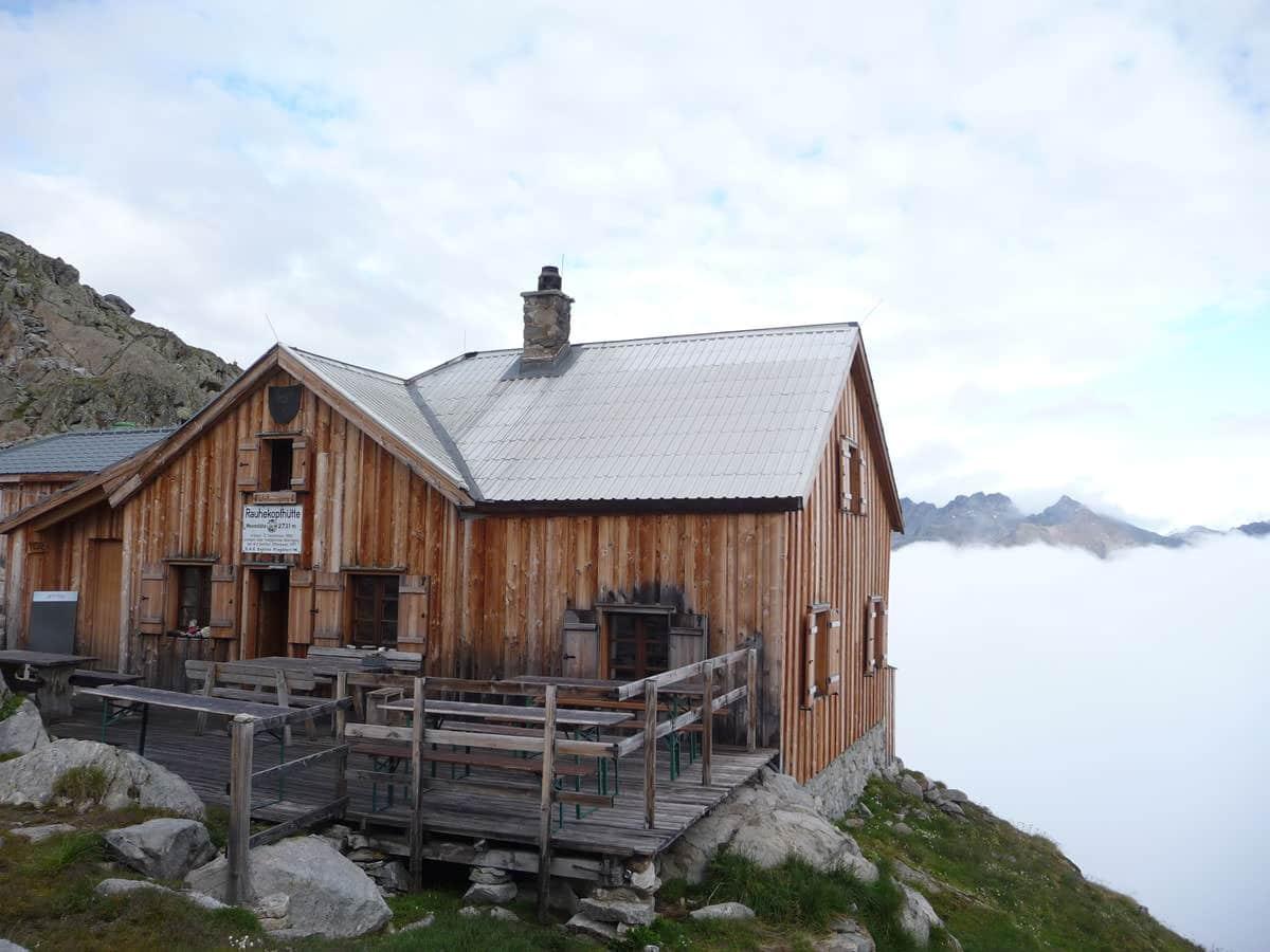 BergaufBergab - Unsere Rauhekopfhuette auf Zeit